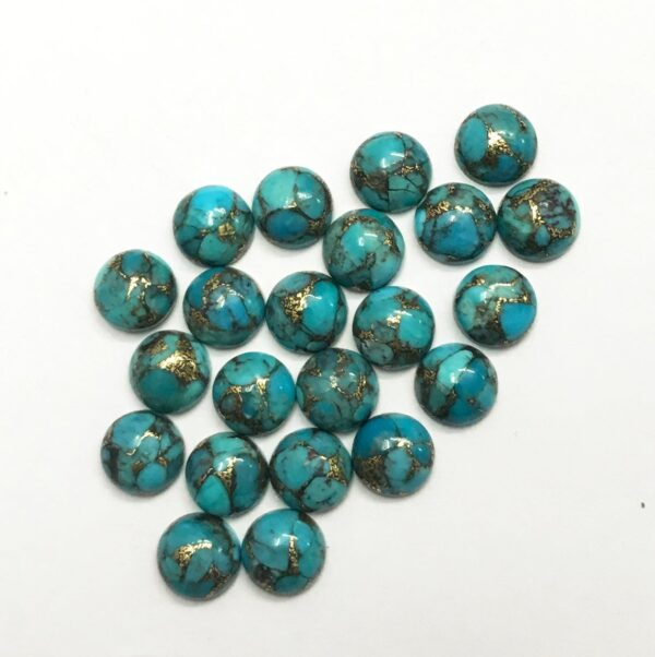 natural blue copper turquoise