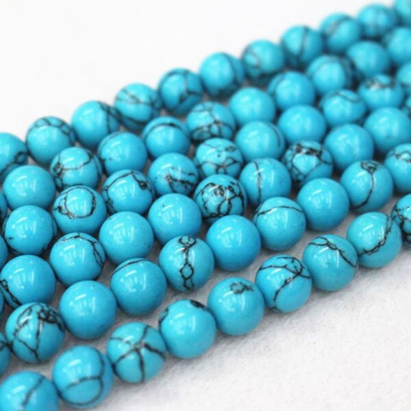 natural howlite turquoise